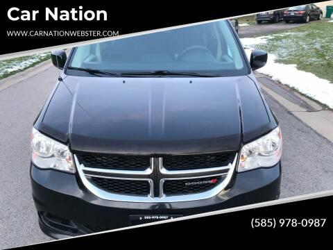 2013 Dodge Grand Caravan for sale at Car Nation in Webster NY