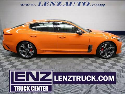 2021 Kia Stinger for sale at LENZ TRUCK CENTER in Fond Du Lac WI