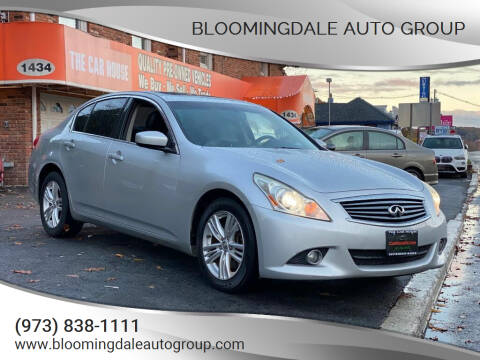2012 Infiniti G37 Sedan for sale at Bloomingdale Auto Group - The Car House in Butler NJ