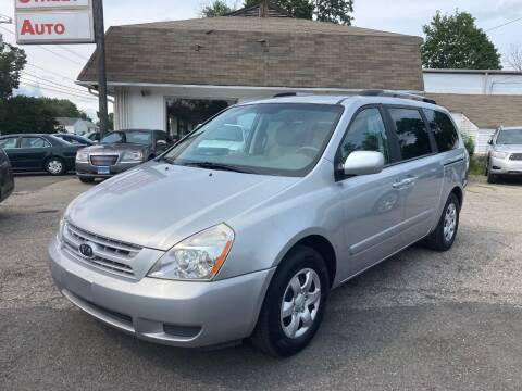 2010 Kia Sedona for sale at ENFIELD STREET AUTO SALES in Enfield CT