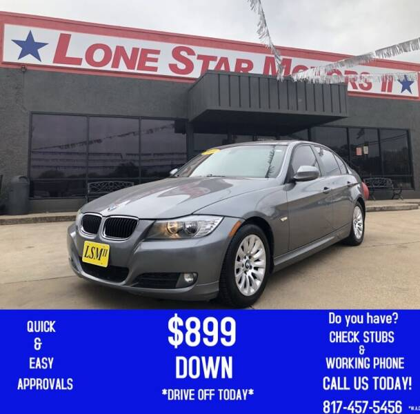 2009 BMW 3 Series for sale at LONE STAR MOTORS II in Fort Worth TX