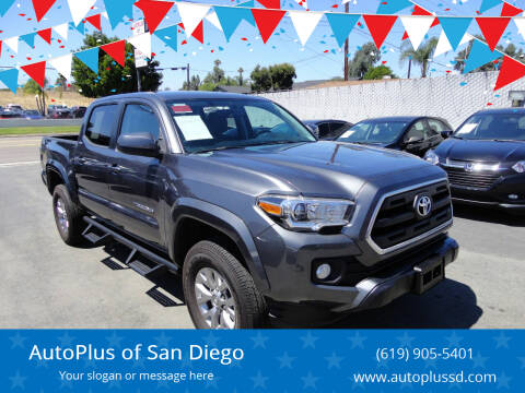 2016 Toyota Tacoma for sale at AutoPlus of San Diego in Spring Valley CA