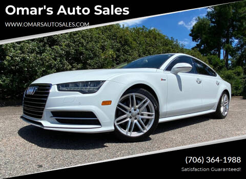 2016 Audi A7 for sale at Omar's Auto Sales in Martinez GA
