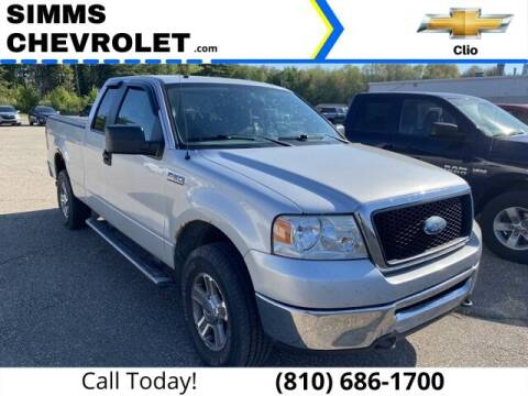 2008 Ford F-150 for sale at Aaron Adams @ Simms Chevrolet in Clio MI