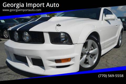2005 Ford Mustang for sale at Georgia Import Auto in Alpharetta GA