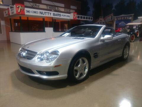 2003 Mercedes-Benz SL-Class for sale at Okoboji Classic Cars in West Okoboji IA