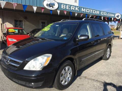 2007 Hyundai Entourage for sale at Berk Motor Co in Whitehall PA