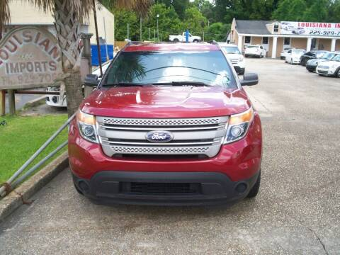 2014 Ford Explorer for sale at Louisiana Imports in Baton Rouge LA