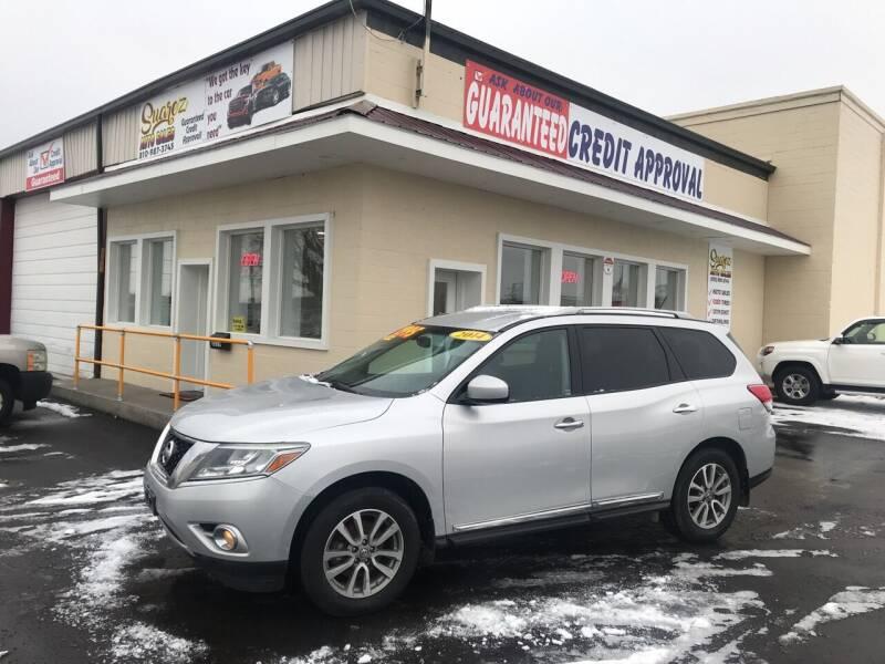 2014 Nissan Pathfinder for sale at Suarez Auto Sales in Port Huron MI