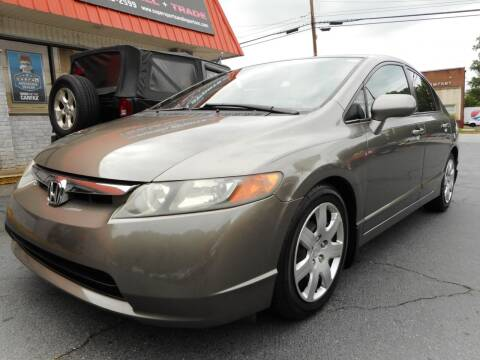 2007 Honda Civic for sale at Super Sports & Imports in Jonesville NC