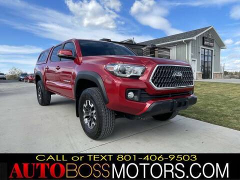 2019 Toyota Tacoma for sale at Auto Boss in Woods Cross UT