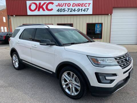 2017 Ford Explorer for sale at OKC Auto Direct in Oklahoma City OK