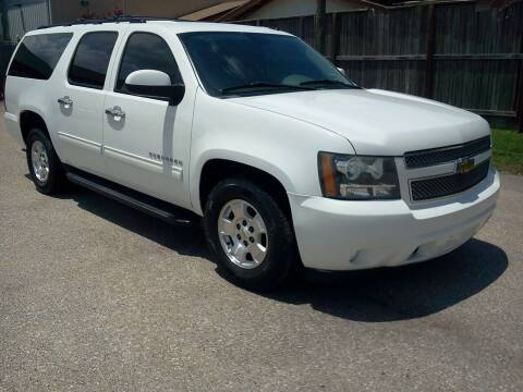 2011 Chevrolet Suburban for sale at HOUSTON MOTORS in Stafford TX