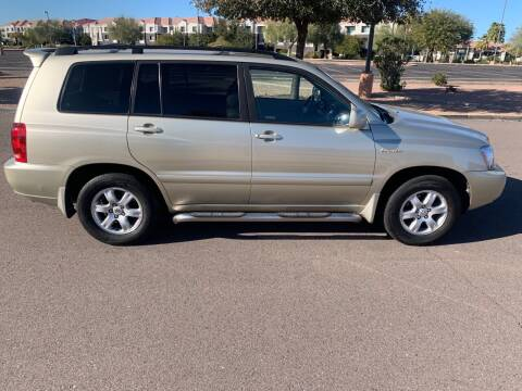 2001 Toyota Highlander for sale at Premier Motors AZ in Phoenix AZ