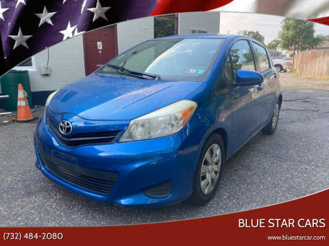2012 Toyota Yaris for sale at Blue Star Cars in Jamesburg NJ