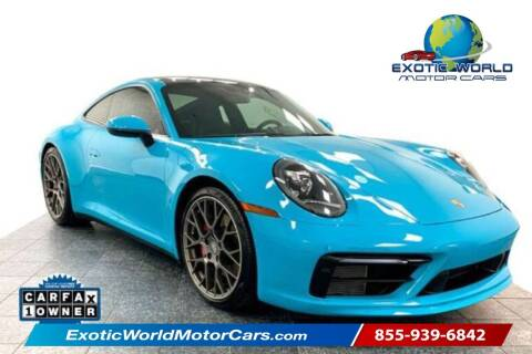 2020 Porsche 911 for sale at Exotic World Motor Cars in Addison TX