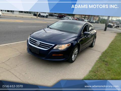 2011 Volkswagen CC for sale at Adams Motors INC. in Inwood NY