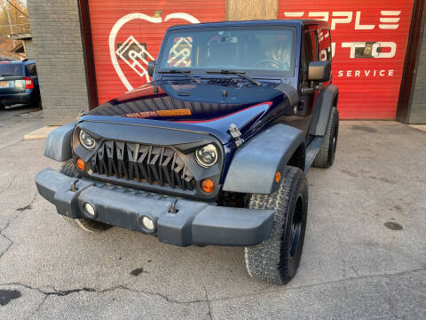 2013 Jeep Wrangler for sale at Apple Auto Sales Inc in Camillus NY