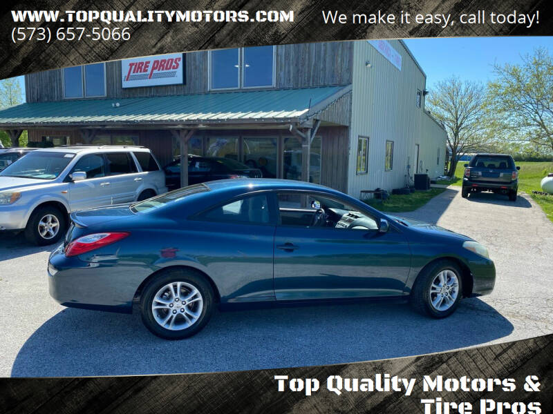 2007 Toyota Camry Solara for sale at Top Quality Motors & Tire Pros in Ashland MO