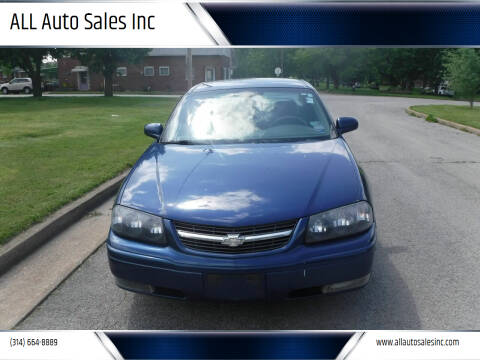 2005 Chevrolet Impala for sale at ALL Auto Sales Inc in Saint Louis MO