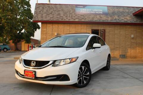 2015 Honda Civic for sale at ALIC MOTORS in Boise ID