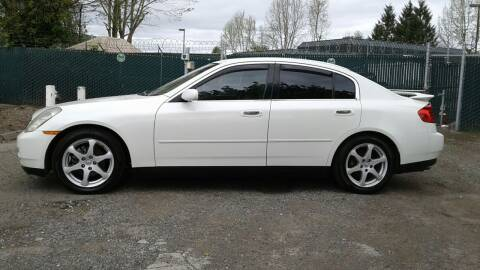 2003 Infiniti G35 for sale at Car Guys in Kent WA