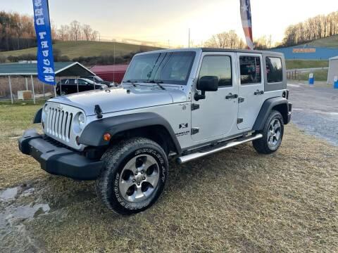 2007 Jeep Wrangler Unlimited for sale at ABINGDON AUTOMART LLC in Abingdon VA