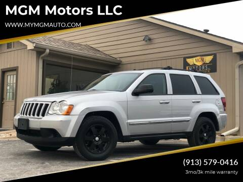 2010 Jeep Grand Cherokee for sale at MGM Motors LLC in De Soto KS