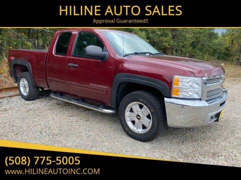 2013 Chevrolet Silverado 1500 for sale at HILINE AUTO SALES in Hyannis MA