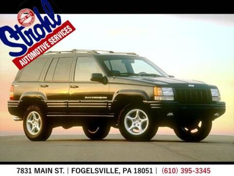 1998 Jeep Grand Cherokee for sale at Strohl Automotive Services in Fogelsville PA