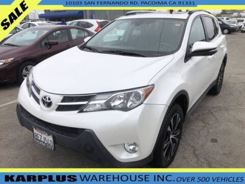 2015 Toyota RAV4 for sale at Karplus Warehouse in Pacoima CA