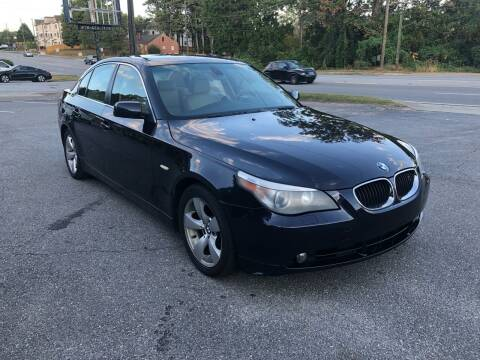 2004 BMW 5 Series for sale at ATLANTA AUTO WAY in Duluth GA