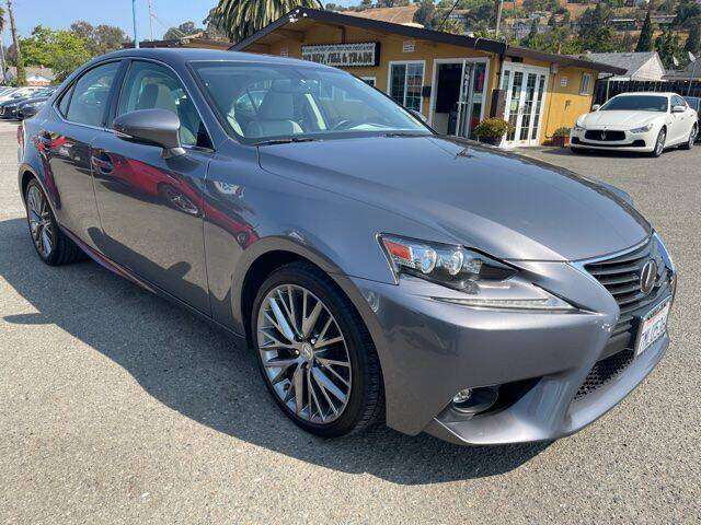 2015 Lexus IS 250 for sale at MISSION AUTOS in Hayward CA