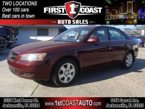 2008 Hyundai Sonata for sale at 1st Coast Auto -Cassat Avenue in Jacksonville FL