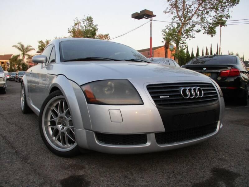 2001 Audi TT for sale at WESTERN MOTORS in Santa Ana CA