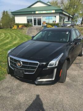 2014 Cadillac CTS for sale at Hamburg Motors in Hamburg NY