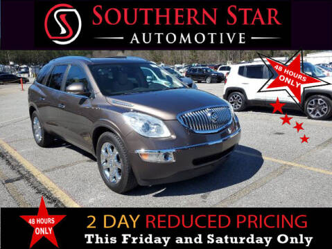 2010 Buick Enclave for sale at Southern Star Automotive, Inc. in Duluth GA