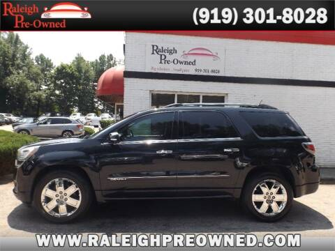 2014 GMC Acadia for sale at Raleigh Pre-Owned in Raleigh NC