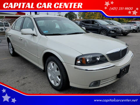 2004 Lincoln LS for sale at CAPITAL CAR CENTER in Providence RI