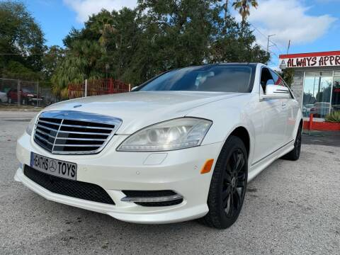 2011 Mercedes-Benz S-Class for sale at Always Approved Autos in Tampa FL
