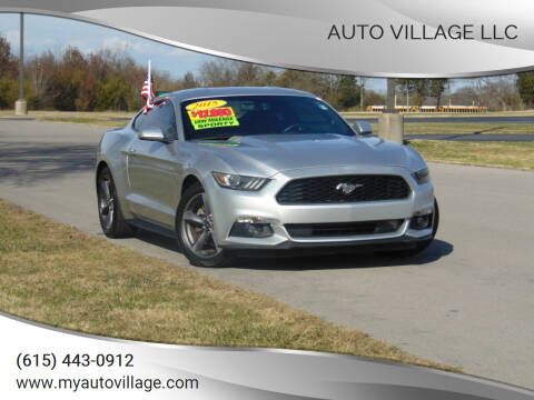 2015 Ford Mustang for sale at AUTO VILLAGE LLC in Lebanon TN