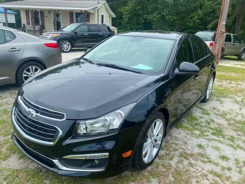 Chevrolet Cruze For Sale In Whiteville Nc Southtown Auto Sales