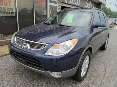 2010 Hyundai Veracruz for sale at Arko Auto Sales in Eastlake OH