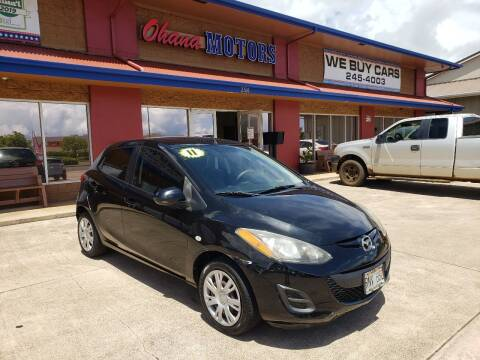 2011 Mazda MAZDA2 for sale at Ohana Motors in Lihue HI