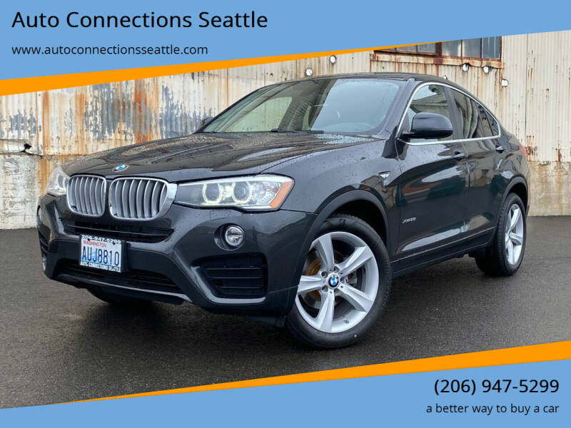 2015 BMW X4 for sale at Auto Connections Seattle in Seattle WA