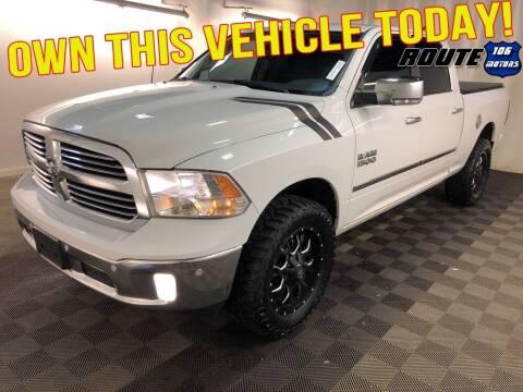 2016 RAM Ram Pickup 1500 for sale at Route 106 Motors in East Bridgewater MA