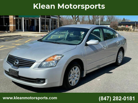 2009 Nissan Altima for sale at Klean Motorsports in Skokie IL