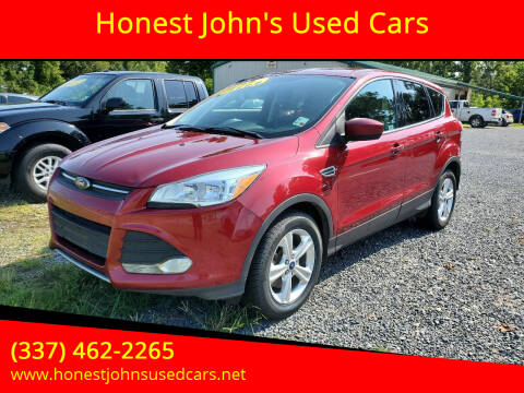 2015 Ford Escape for sale at Honest John's Used Cars in Deridder LA