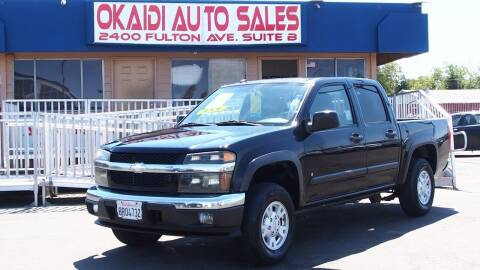 2008 Chevrolet Colorado for sale at Okaidi Auto Sales in Sacramento CA