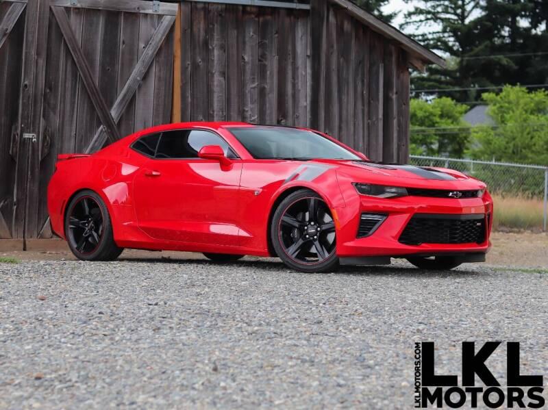 2016 Chevrolet Camaro for sale at LKL Motors in Puyallup WA
